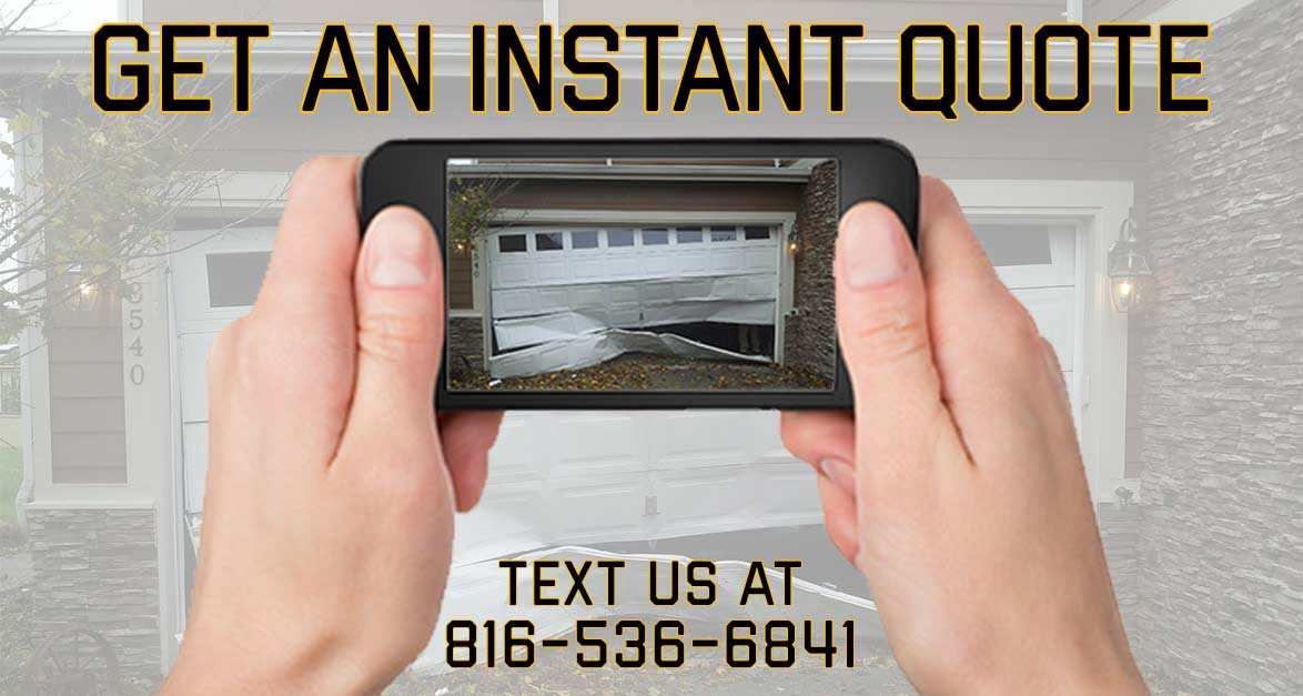 Garage Door Service Instant Quote Kansas City